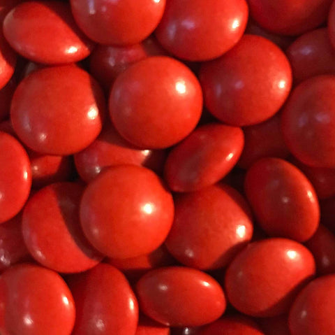 Mini Chocolate Beans - Red