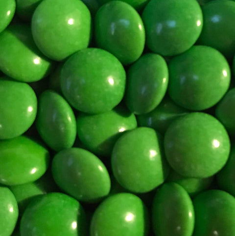 Mini Chocolate Beans - Green