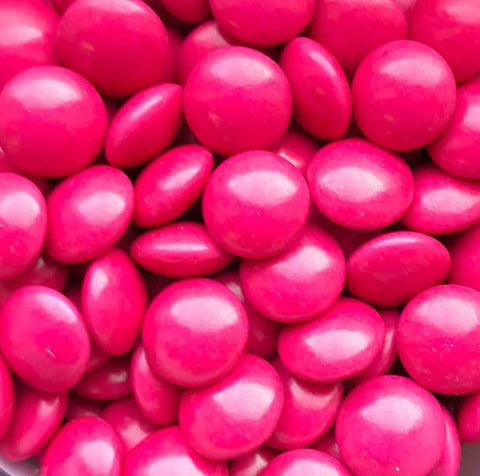 Mini Chocolate Beans - Hot Pink