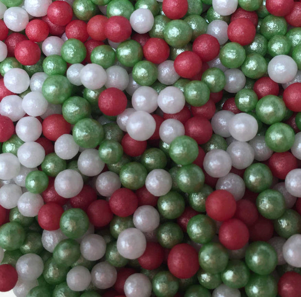 Glimmer Pearls - Christmas