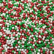 Scrumptious Sprinkle Duo Envelope  - Christmas - Glimmer Red, Green and White 100s and 1000s and Mini Red, Green and White Mini Stars