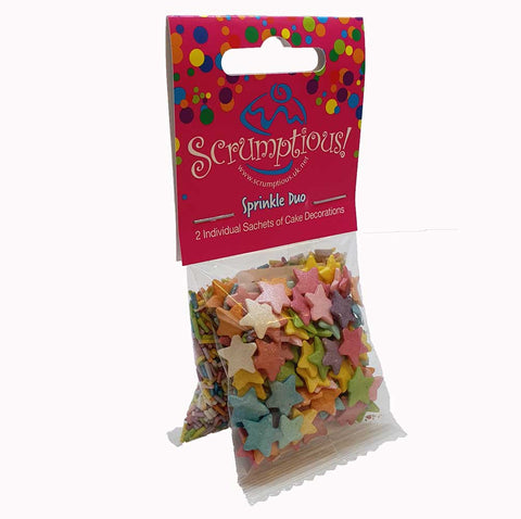 Sprinkle Duo - Rainbow Stars and Strands