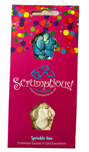 Scrumptious Sprinkle Duo Envelope - Seaside - Fishes and Mother of Pearl Shells