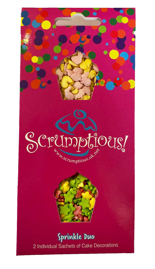 Scrumptious Sprinkle Duo Envelope - Spring - Flower Mix and Bunnies & Ducks