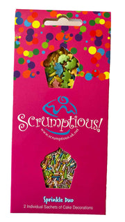Scrumptious Sprinkle Duo Envelope - Dinosaurs and Rainbows - Dinosaurs and Rainbow Strands
