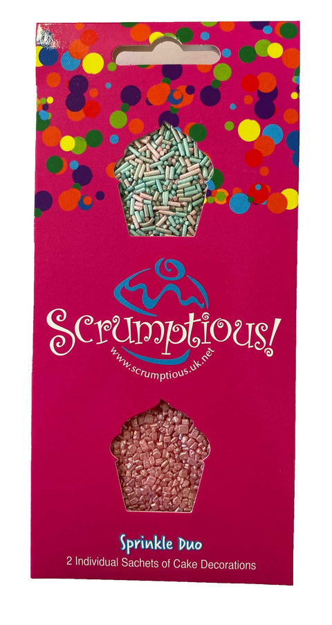 Scrumptious Sprinkle Duo Envelope - Unicorn Mix - Unicorn Strands and Pink Glimmer Strands