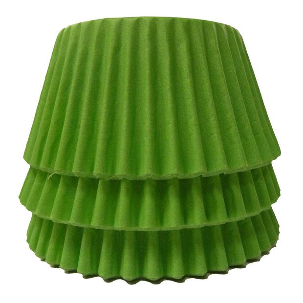 Cupcake Cases - Solid - Lime Green