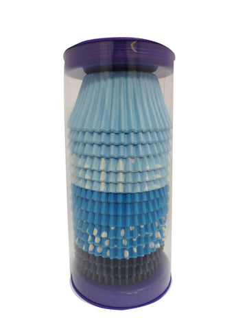 Cupcake Cases - Mixed - Blue
