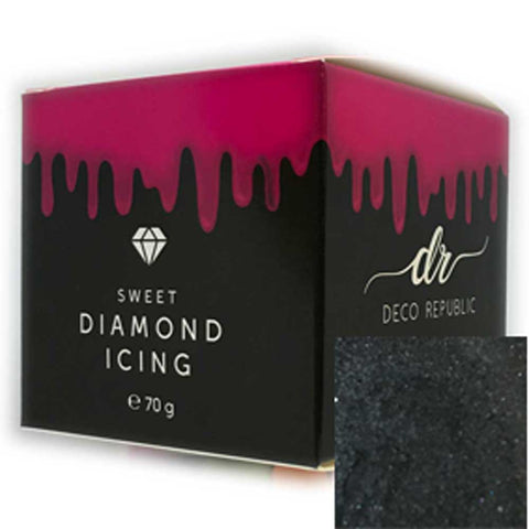 Diamond Icing - Black 70g