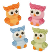 Toppers - Sugar Owls x 4