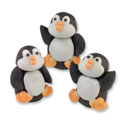 Toppers - Sugar Penguins x 5