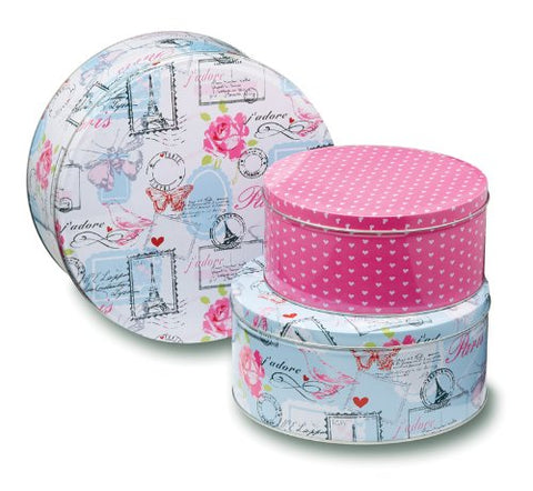 Tins - Parisienne Set of 3 Cake Tins
