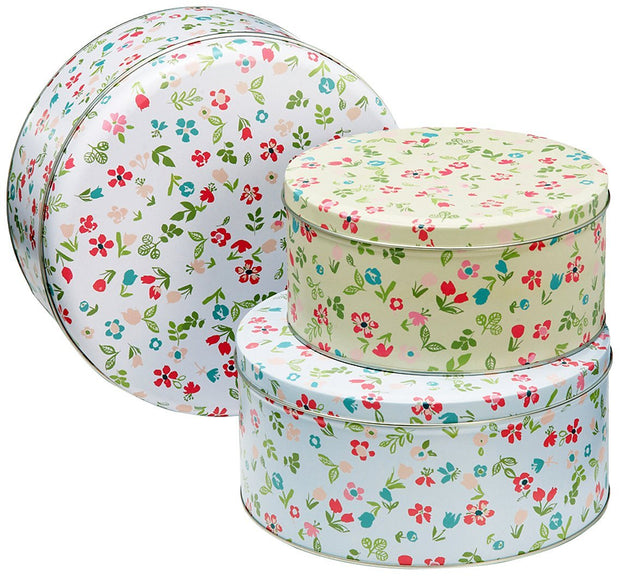 Tins - Spring Meadow Set of 3 Cake Tins