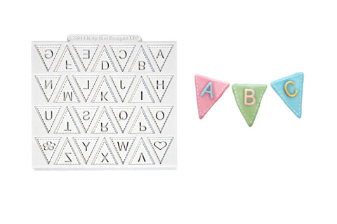 Katy Sue Design Mat - Bunting Alphabet