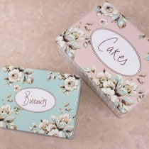 Tins - Katie Alice Cottage Flower set of 2 tins