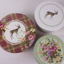 Tins - Katie Alice Highland Fling Set of 3 Cake Tins