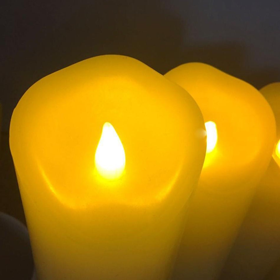 Flameless LED Wax Candles