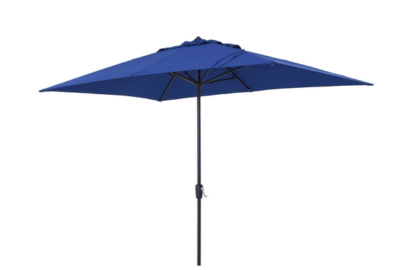 Simply Shade LED Lighted 10.5 x 7 Rectangle Market Umbrella ITEM #804781