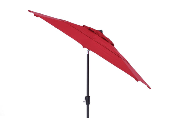 Simply Shade 9' Double Vent Market Umbrella- RED - ITEM #804793