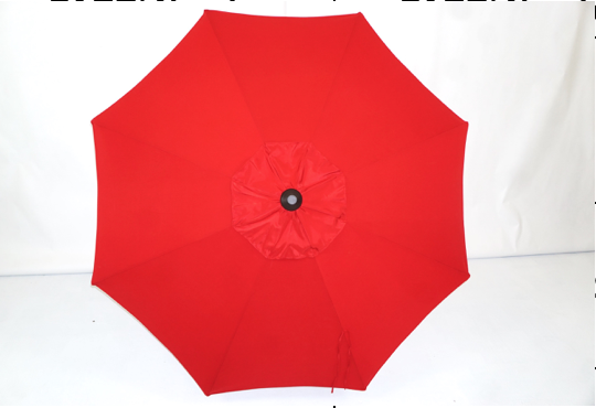 11' CANTILEVER UMBRELLA TOP RED