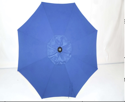 Navy Blue Umbrella Top - 9' Double Vent Market Umbrella