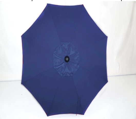 Navy Top - 11' Raised Vent Market Umbrella OB2