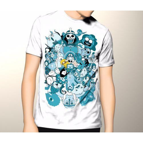6af5e7b5 Adventure Time Shirt Adventure Universe Graphic Shirt-T-Shirt-Thinkgeek  Badass Tees