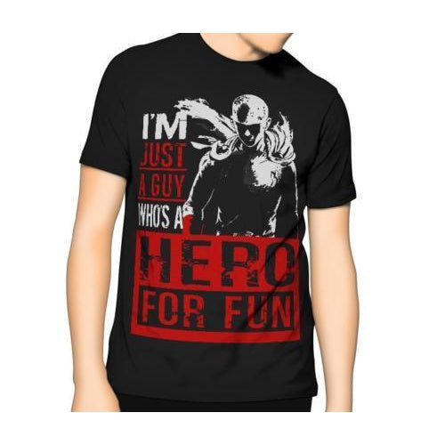 2b9ffe45 One Punch Man T Shirt Hero For Fun Kids 6XL-T-Shirt-Thinkgeek