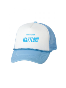 WAVYLORD TRUCKER HAT (BABY BLUE)