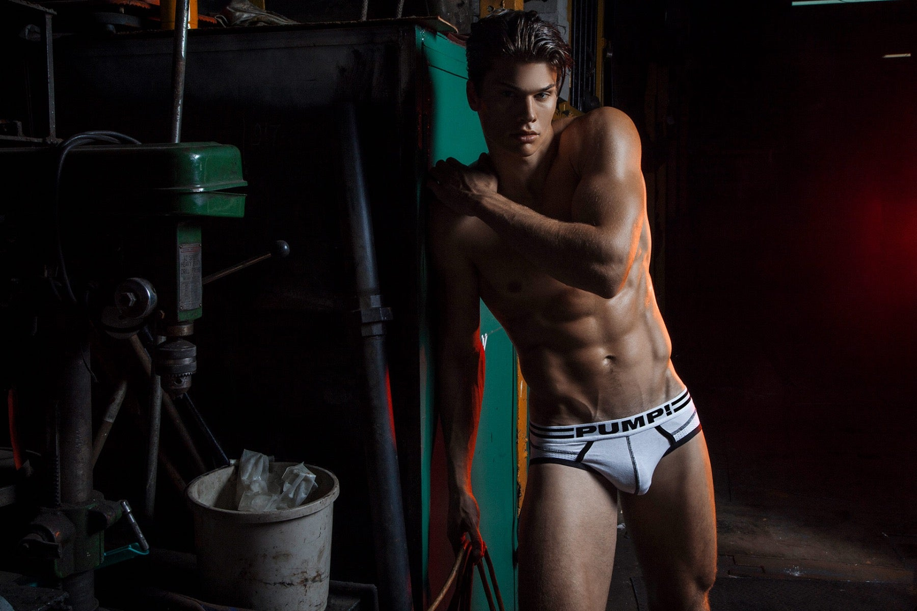 INTERVIEW WITH PUMP! UNDERWEAR MODEL PATRICK CLAYTON