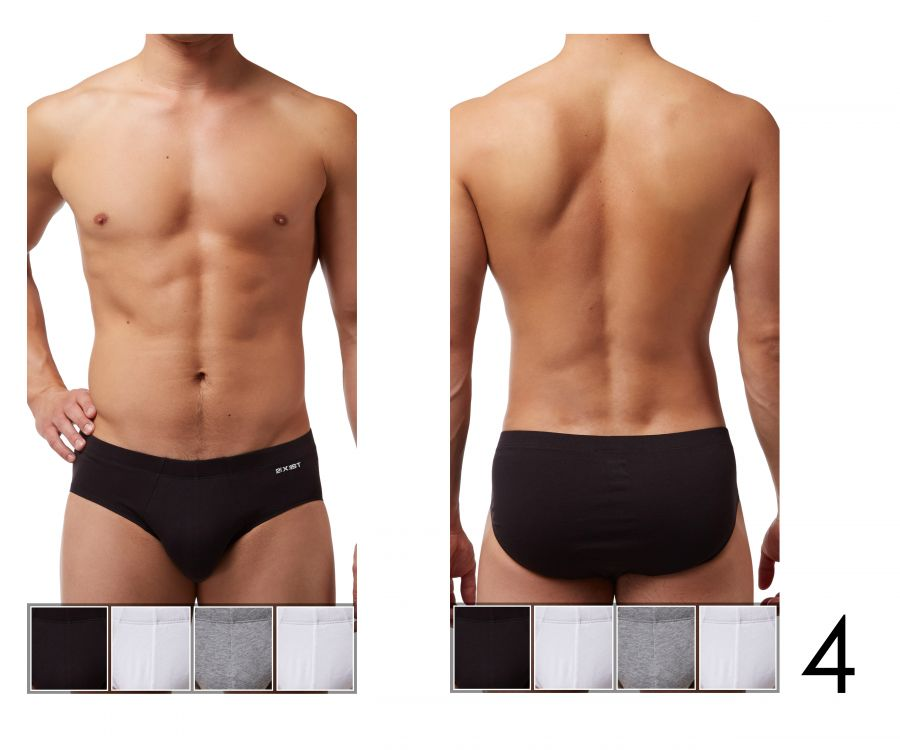 2(X)IST 3102043203 Cotton 4PK Bikini Briefs - Mpire Men