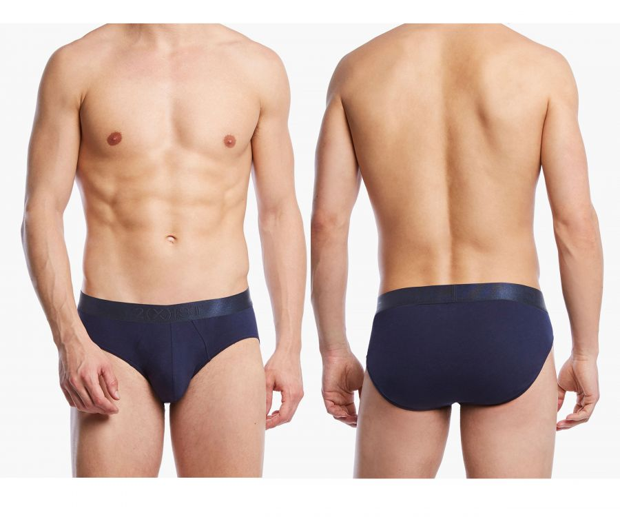 2(X)IST 3104103201 Pima Cotton Bikini Briefs - Mpire Men