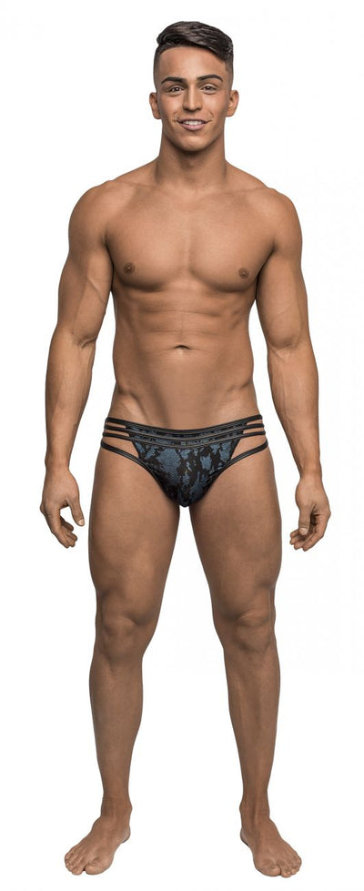 Male Power 419238 Strapped and Bound Strappy Thong - Mpire Men