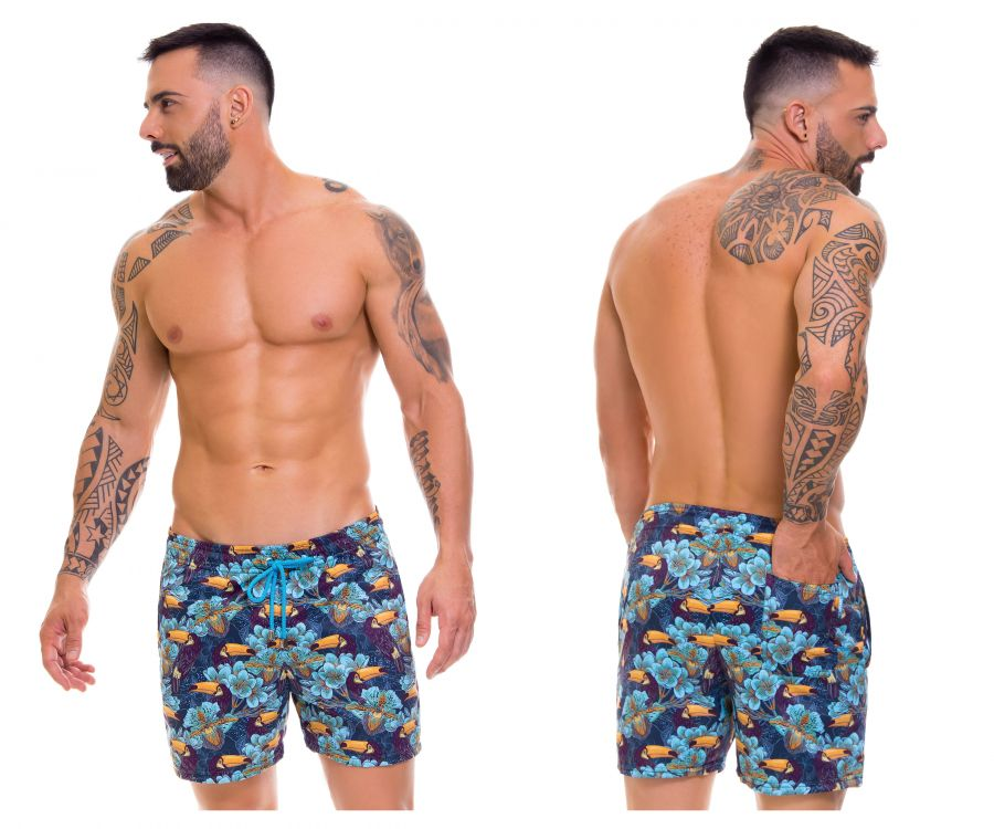 Arrecife 0668 Tropical Swim Trunks - Mpire Men
