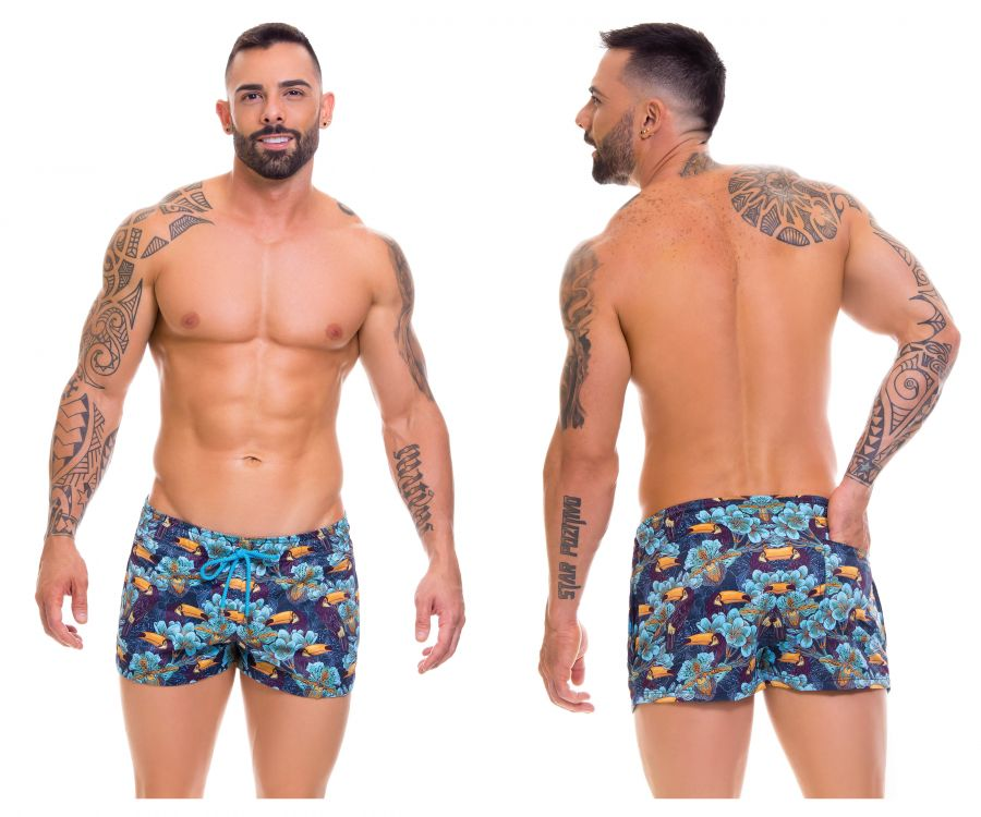 Arrecife 0669 Tropical Swim Trunks - Mpire Men