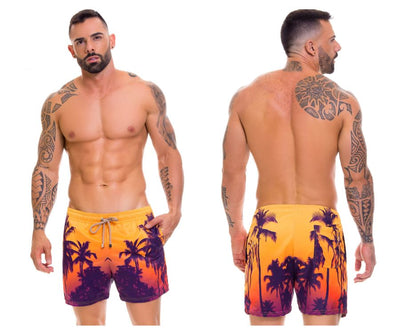 Swimwear Swim Trunks, Arrecife, Arrecife 0696 Short Swim Trunks - Mpire Men's Fashion