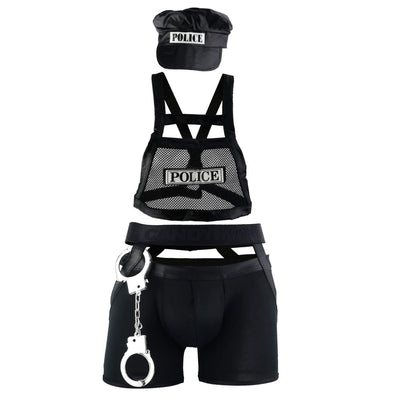CandyMan 99152 Police Outfit - Mpire Men