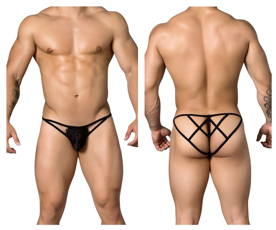 CandyMan 99276 Candy Lace Thongs - Mpire Men