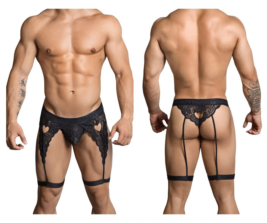CandyMan 99310 Suspender Thongs