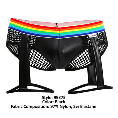 CandyMan 99375 Pride Suspender Brief - Mpire Men