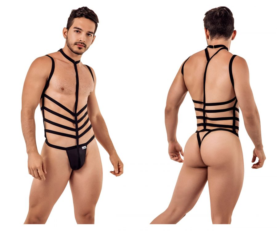 CandyMan 99397 Harness Bodysuit - Mpire Men