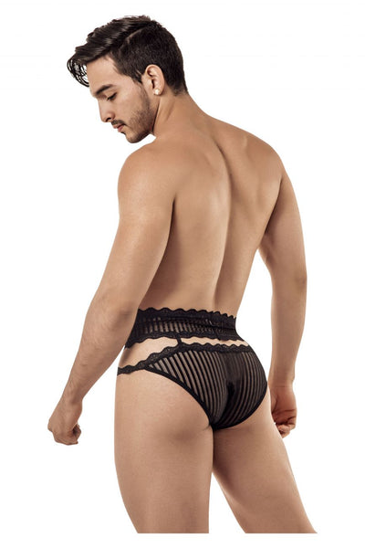CandyMan 99417 Garter Belt Briefs - Mpire Men