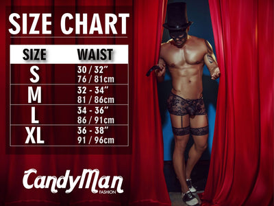 Sexy Costumes Costume Outfit, CandyMan, CandyMan 99283 S and M Costume Outfit - Mpire Men's Fashion