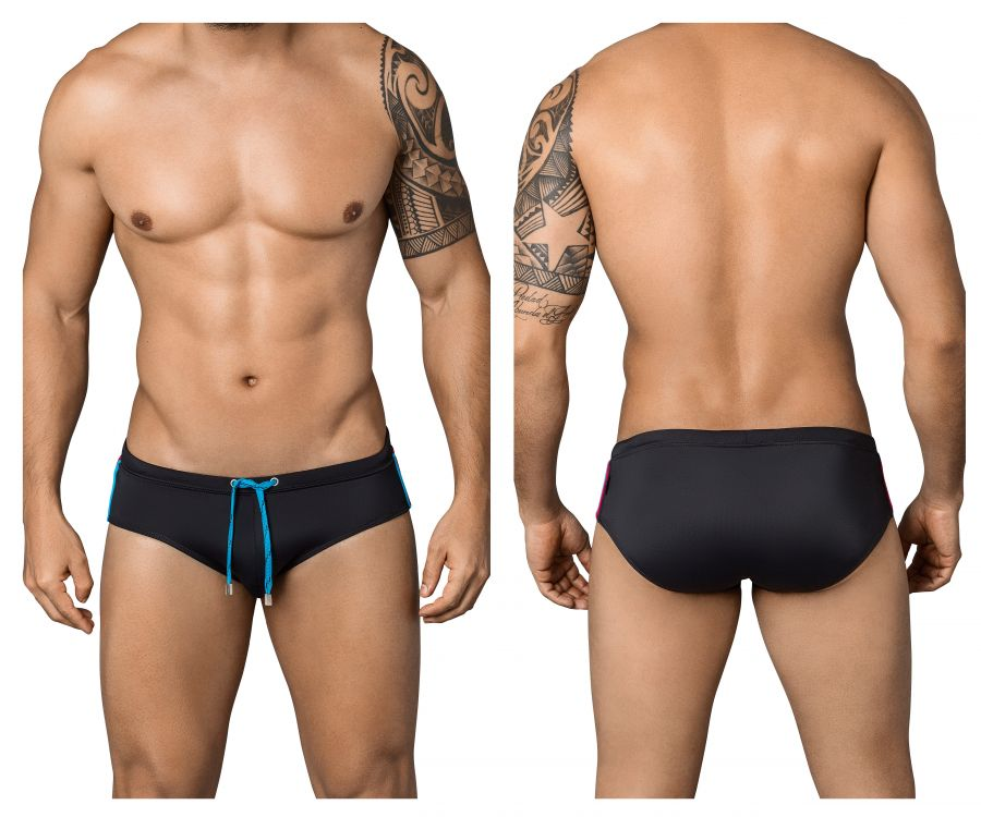 Clever 0652 Darkling Swim Briefs - Mpire Men