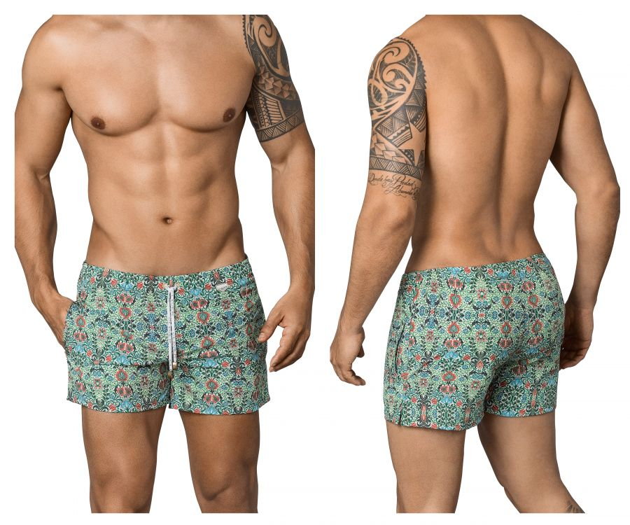 Clever 0663 Ivy Athlete Swim Trunks - Mpire Men