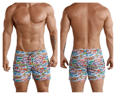 Clever 0673 Okidoky Atleta Swim Trunks - Mpire Men