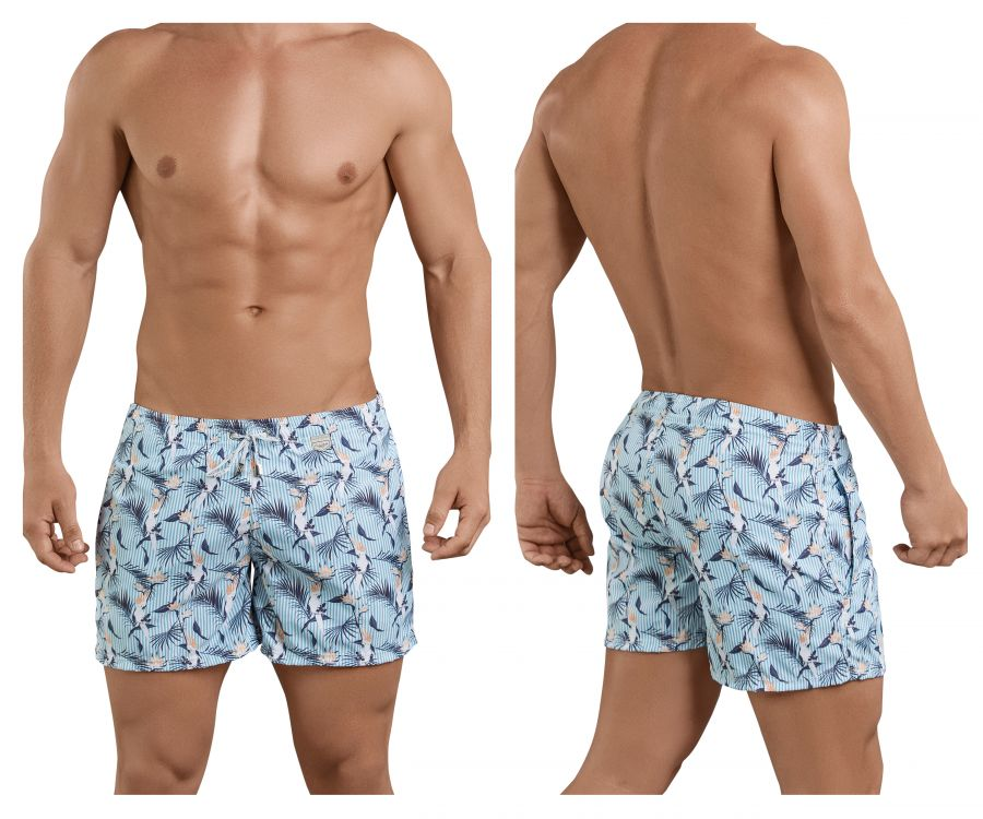 Clever 0683 Cockatoos Atleta Swim Trunks - Mpire Men
