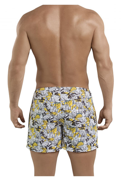 Clever 0684 Leaves Atleta Swim Trunks - Mpire Men