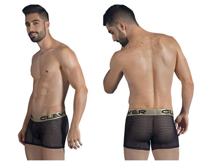 Mens Underwear Boxer Briefs, Clever, Clever 2309 Romeo Boxer Briefs - Mpire Men's Fashion