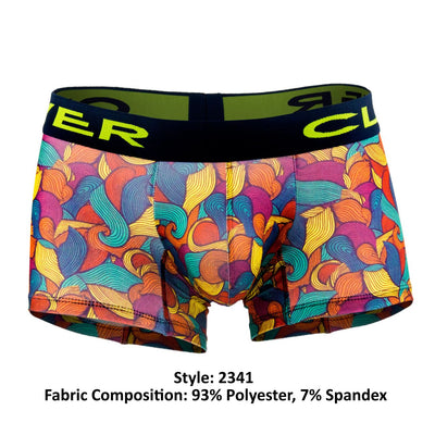 Clever 2341 Peace and Love Boxer Briefs - Mpire Men